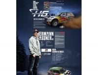 Internetseite des Rallyefahrers Hermann Gassner jr. - www.hermann-gassner.com (Betreuung seit 2008)