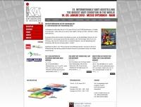 Internetseite Internationale Kartmesse - www.kartmesse.de (Betreuung seit 2008)