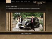 Internetseite für den Oldtimerverleih Bayern - www.oldtimerverleih-bayern.de (Betreuung seit 2009)