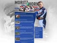 Internetseite des Rennfahrers Moritz Horn - www.moritz-horn.de (Betreuung seit 2012)
