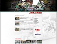 Internetseite des Rennfahrers Lirim Zendeli - www.lirim-zendeli.de (Betreuung seit 2012)